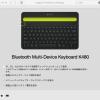 ロジクール Bluetoothキーボード K480