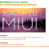 Xiaomi.eu Weekly Rom 7.11.23 は、android 7はなし!