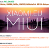 Xiaomi eu ROM 7.11.2は見送ります。