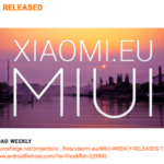 Xiaomi.eu Weekly ROM 11月最後は、画面分割