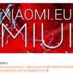 旧正月だからかな。。Xiaomi.eu Weekly ROM更新停止中